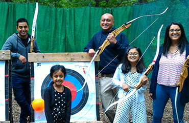 Adults Archery Session at Adventure Now Sheffield