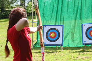 Archery Activity at Adventure Now Sheffield