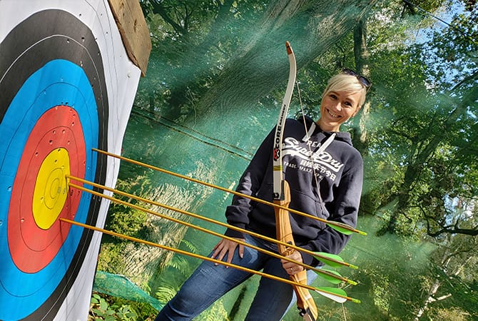 Archery at Adventure Now