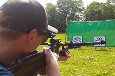 Crossbow Shooting Activity at Adventure Now Sheffield