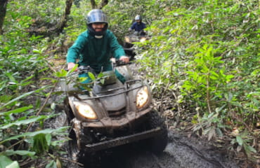 Woodland Quad Biking adventure in Manchester with Adventure Now