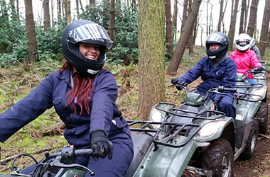 Quad Biking for Hens at Adventure Now Manchester