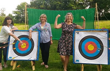 Archery Hen Do at Adventure Now Sheffield