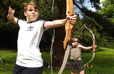 Archery Kids Party Adventure Now, Sheffield